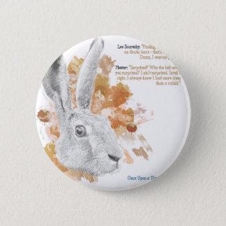 Badges Hester, démon de lièvres de ses matériaux foncés