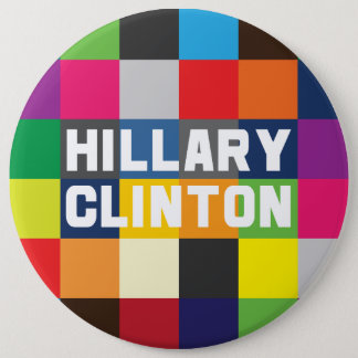 Badges Hillary Clinton colorée 2016 boutons