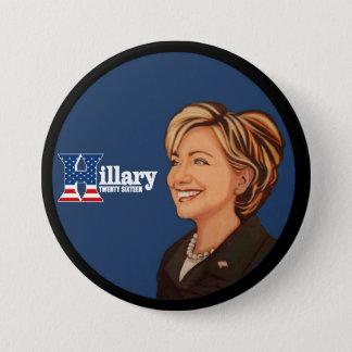 Badges Hillary Clinton vingt seize
