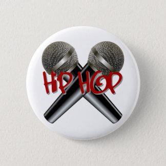 Badges Hip hop - le coup sec et dur DJ de mètre-bougie