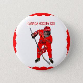 BADGES HOCKEY KID-BUTTON DU CANADA