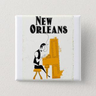 Badges Honky Tonk de la Nouvelle-Orléans