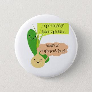 Badges Humour de conserves au vinaigre et d'oignon