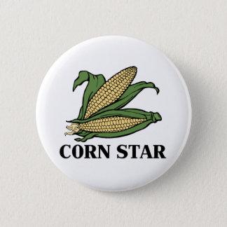 Badges Humour végétal drôle de BBQ de calembour d'étoile