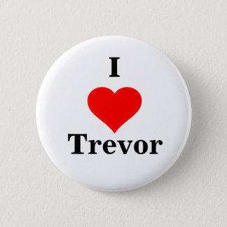 Badges I bouton de Trevor de coeur