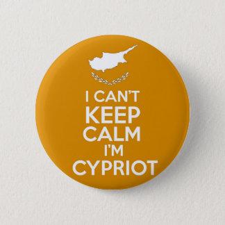 Badges I Cnt gardent le Chypriote du calme Im