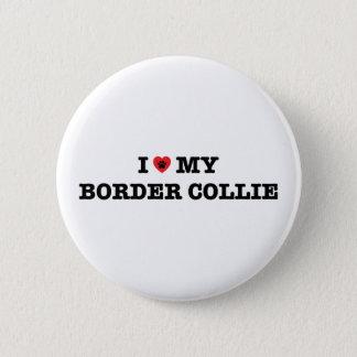 Badges I coeur mon bouton de border collie