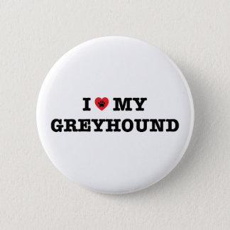 Badges I coeur mon bouton de lévrier