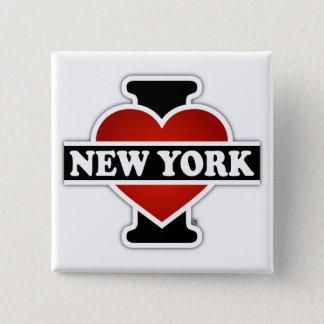 Badges I coeur New York