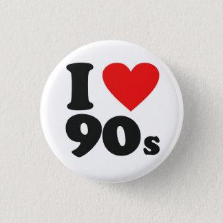 Badges I les années 90 de coeur