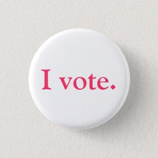 Badges Identification d'électeur, style de grlsvote
