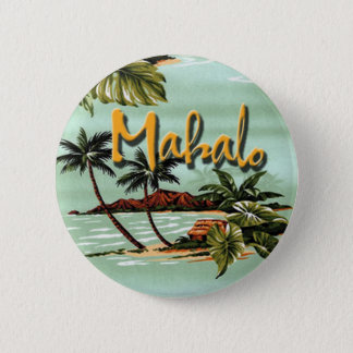 Badges Île hawaïenne de Mahalo