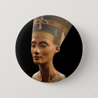 Badges Image du buste de Nefertiti dans le musée de Neues