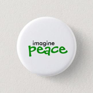Badges imaginez, paix