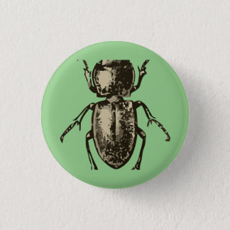 """Badges Insecte vert 2"""" bouton rond"""