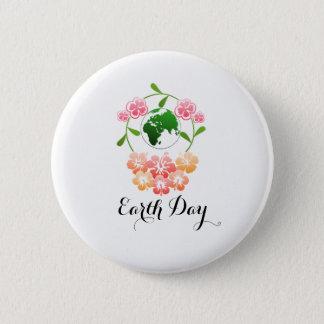 """Badges Insigne assez floral de """"jour de la terre"""""""