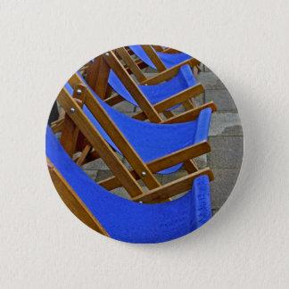 Badges Insigne bleu de bouton de chaise de plate-forme