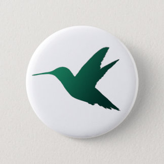 Badges Insigne de silhouette de colibri