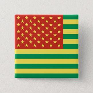 Badges Insigne des USA de drapeau de Rasta