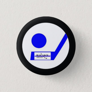 Badges Insigne d'hockey de Blueliner rétro