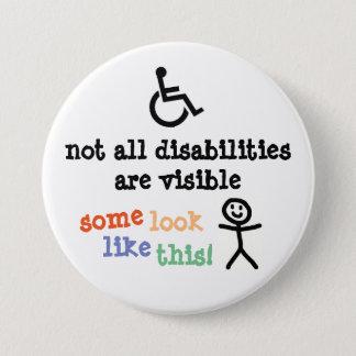 Badges Insigne invisible d'incapacité