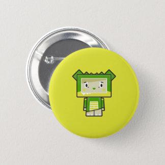 Badges Insigne mignon de bouton de crocodile de