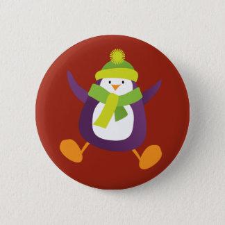 Badges Insigne pourpre sautant mignon du bouton de