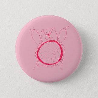 Badges Insigne rond d'ours de tournesol