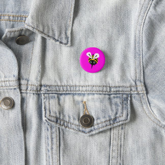 Badges Insigne rose d'abeille