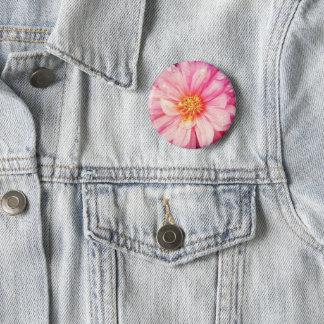 Badges Insigne rose de fleur de dahlia