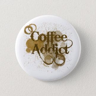 Badges Intoxiqué de café
