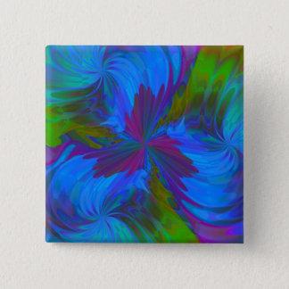 Badges Iris dans le bleu
