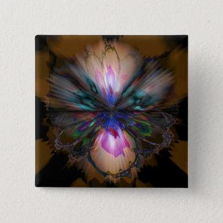 Badges Iris de paon