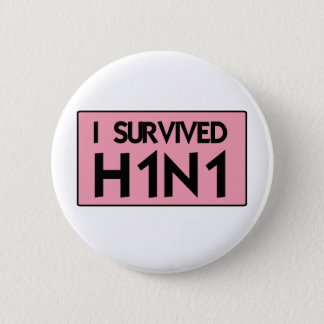 Badges J'ai survécu à H1N1