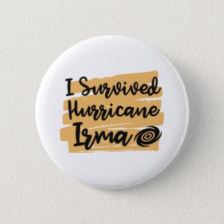 Badges J'ai survécu à l'ouragan Irma