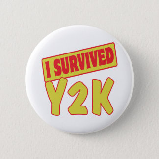 BADGES J'AI SURVÉCU À Y2K