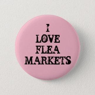Badges J'aime des marchés aux puces
