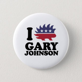 Badges J'aime Gary Johnson - le libertaire - -