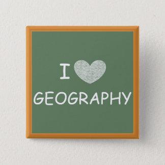 Badges J'aime la géographie