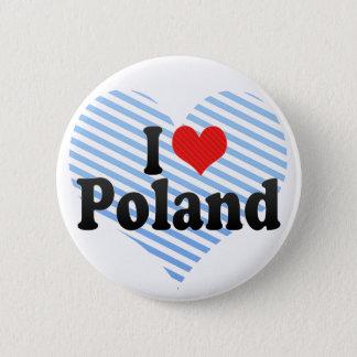 Badges J'aime la Pologne