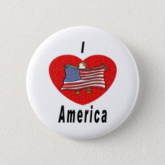 Badges J'aime l'Amérique