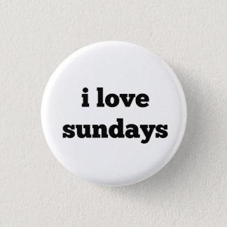 Badges j'aime le bouton de dimanche
