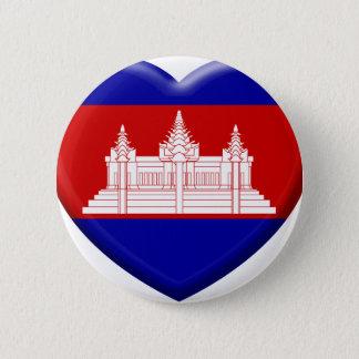 Badges j'aime le Cambodge