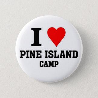 Badges J'aime le camp d'île de pin