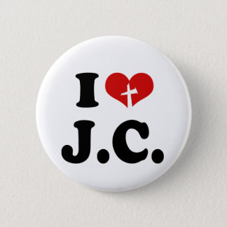 Badges J'aime le Jésus-Christ