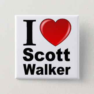 Badges J'aime le marcheur de Scott