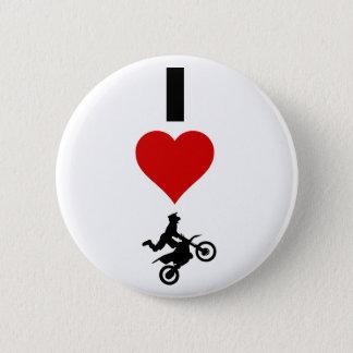 Badges J'aime le motocross (vertical)