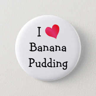 Badges J'aime le pudding de banane
