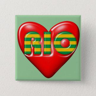Badges J'aime le Rio de Janeiro
