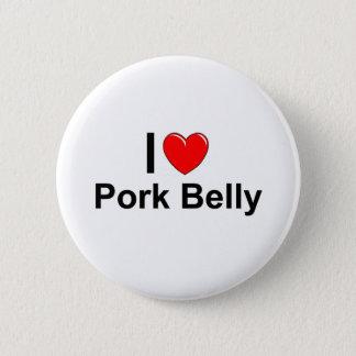 Badges J'aime le ventre de porc de coeur